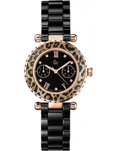Chic Time | Montre Femme Gc Sport Chic X35016L2S Noir  | Prix : 529,00€