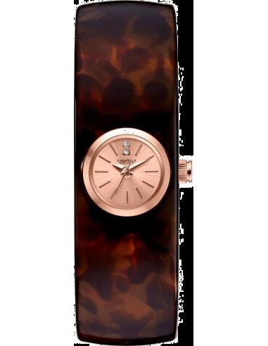 Chic Time   Montre Femme Caravelle by Bulova 44L139 Marron    Prix : 59,00€