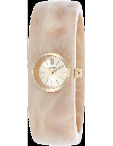 Chic Time | Montre Femme Caravelle by Bulova 44L136 Beige  | Prix : 59,00€