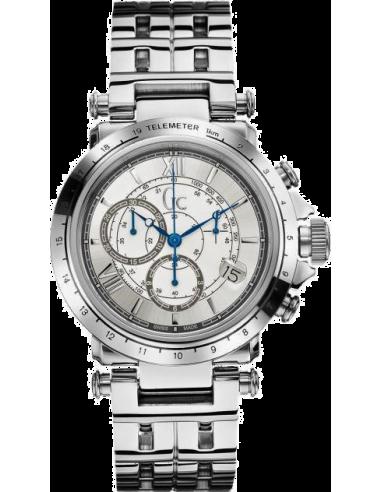 Chic Time | Montre Homme Gc Sport Chic X44002G1 Argent  | Prix : 529,00€