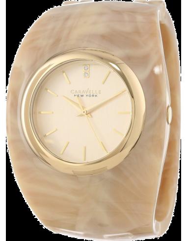 Chic Time | Montre Femme Caravelle by Bulova 44L135 Beige  | Prix : 69,00€