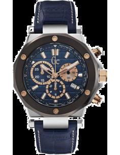 Chic Time | Montre Homme Gc Sport Chic X72025G7S Bleu  | Prix : 739,00€