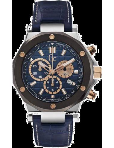Chic Time   Montre Homme Gc Sport Chic X72025G7S Bleu    Prix : 739,00€