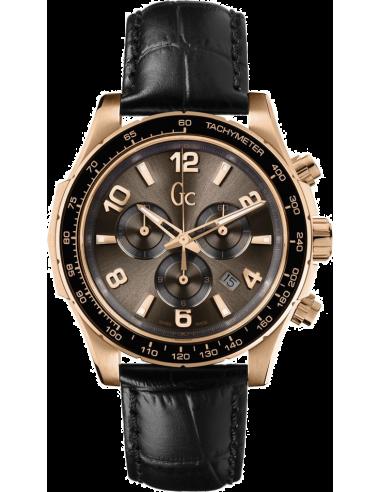 Chic Time | Montre Homme Gc Sport Chic X51001G1S Noir  | Prix : 659,00€