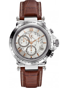 Chic Time | Montre Homme Gc Sport Chic X44005G1 Marron  | Prix : 599,00 €