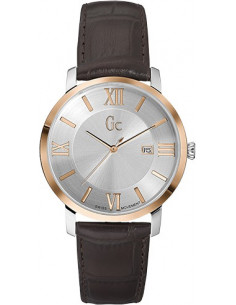 Chic Time | Montre Homme Gc Classica X60019G1S Marron  | Prix : 939,00 €