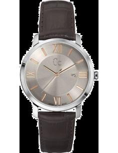 Chic Time | Montre Homme Gc Classica X60016G1S Marron  | Prix : 359,00€