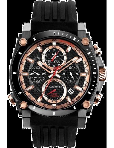 Chic Time   Montre Homme Bulova 98B181 Noir    Prix : 469,00€