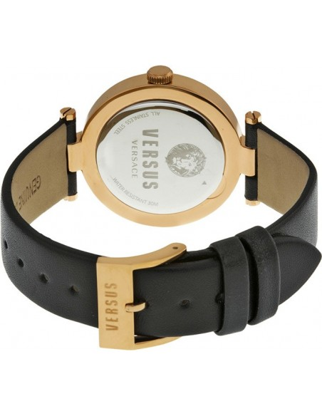 Chic Time | Montre Femme Versus by Versace Logo SP8080014 Noir  | Prix : 189,00€