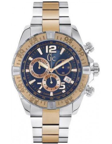 Chic Time | Montre Homme Guess Collection Y02002g7 Argent  | Prix : 679,20€