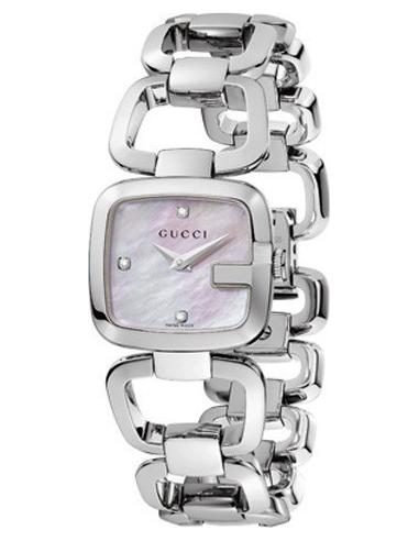 Chic Time | Montre Femme Gucci G-Gucci YA125502 Argent  | Prix : 859,00€