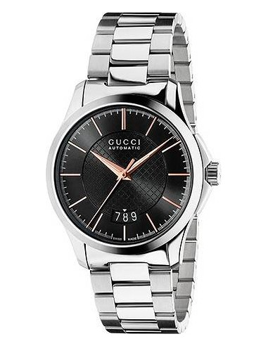 Chic Time | Montre Homme Gucci Timeless YA126432 Argent  | Prix : 979,00€