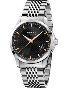 Chic Time | Montre Homme Gucci Timeless YA126420 Argent  | Prix : 1,059.00