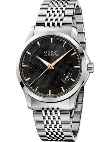 Chic Time   Montre Homme Gucci Timeless YA126420 Argent    Prix : 1,059.00