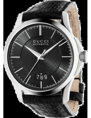 Chic Time | Montre Homme Gucci Timeless YA126430 Noir  | Prix : 1,179.00