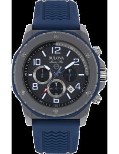 Chic Time   Montre Homme Bulova Marine Star 98B246 Bleu    Prix : 299,00€