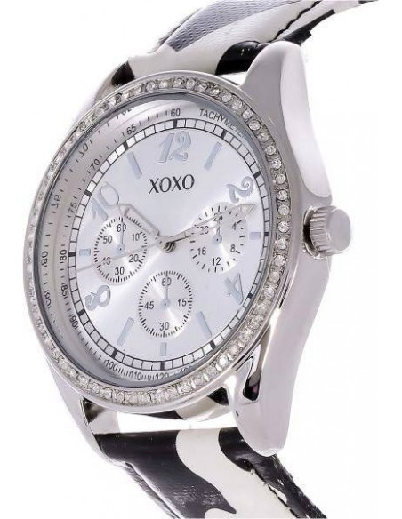 Chic Time | Montre Femme XOXO XO3170 Noir  | Prix : 29,90€