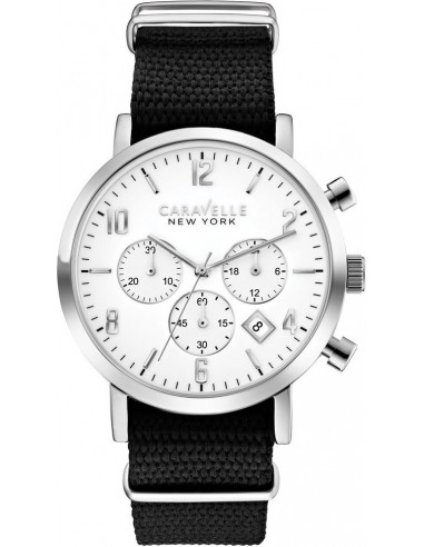 Chic Time | Montre Homme Caravelle by Bulova 43B137 Noir  | Prix : 119,00€