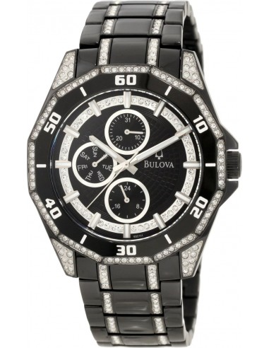 Chic Time   Montre Homme Bulova 98C111 Noir    Prix : 499,00€