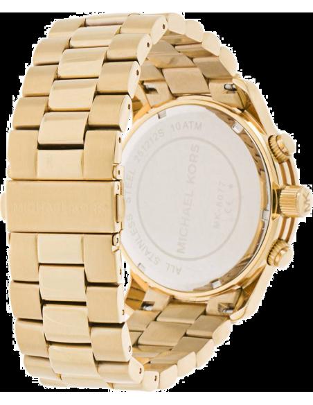 Chic Time | Montre Michael Kors Runway MK8077 Bracelet acier doré  | Prix : 167,40€