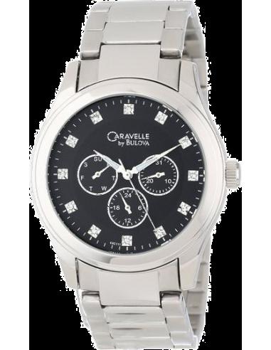 Chic Time | Montre Homme Caravelle by Bulova 43C111 Argent  | Prix : 139,00€