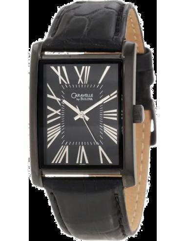 Chic Time | Montre Homme Caravelle by Bulova 45A101 Noir  | Prix : 95,00€