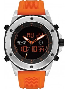 Chic Time | Montre Homme Bulova Marine Star 98C118 Orange  | Prix : 289,00€