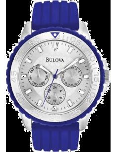 Chic Time | Montre Homme Bulova 96N105 Bleu  | Prix : 299,00€