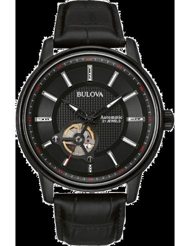 Chic Time   Montre Homme Bulova 98A139 Noir    Prix : 455,00€