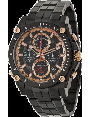 Chic Time   Montre Homme Bulova 98B182 Noir    Prix : 469,00€