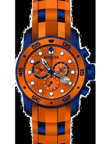 Chic Time   Montre Homme Invicta Pro Diver 18201 Orange    Prix : 199,00€