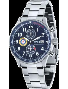Chic Time | Montre Homme AVI-8 Hawker Hurricane AV-4011-13 Argent  | Prix : 289,00€