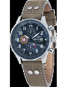 Chic Time | Montre Homme AVI-8 Hawker Hurricane AV-4011-08 Marron  | Prix : 269,00€