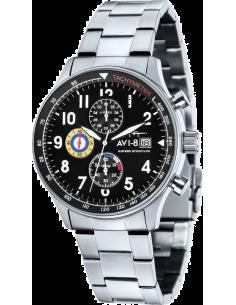 Chic Time | Montre Homme AVI-8 Hawker Hurricane AV-4011-12 Argent  | Prix : 199,00€
