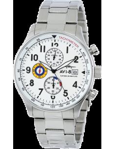 Chic Time | Montre Homme AVI-8 Hawker Hurricane AV-4011-11 Argent  | Prix : 289,00€