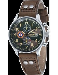 Chic Time | Montre Homme AVI-8 Hawker Hurricane AV-4011-09 Marron  | Prix : 269,00€