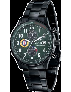 Chic Time | Montre Homme AVI-8 Hawker Hurricane AV-4011-14 Noir  | Prix : 299,00€