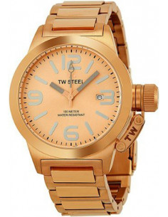 Chic Time | Montre Femme TW Steel Canteen TW303 Or Rose - Prix : 509,00 €