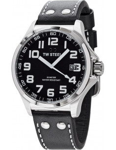 Chic Time   Montre Homme TW Steel Pilot TW408 Noir    Prix : 289,00€
