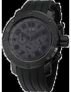 Chic Time | Montre Homme TW Steel Grandeur Tech TW128 Noir - Prix : 599,00 €