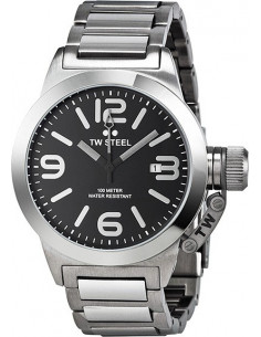 Chic Time | Montre Homme TW Steel Canteen TW300 Argent  | Prix : 509,00€