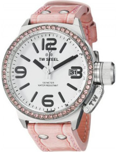 Chic Time | Montre Femme TW Steel Canteen STW36 Rose - Prix : 229,00 €