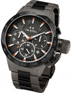 Chic Time | Montre Homme TW Steel Canteen TW313 Gris - Prix : 959,00 €