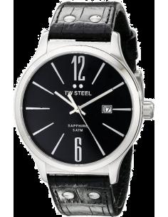 Chic Time | Montre Homme TW Steel Slim Line TW1300 Noir  | Prix : 349,00€