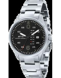 Chic Time | AVI-8  - Montre Homme AVI-8 Hawker Harrier II AV-4003-12 Argent  - Prix : 159,00 €