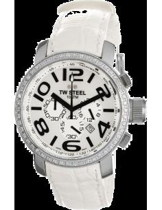 Chic Time | Montre Femme TW Steel TW54 Blanc  | Prix : 189,90€