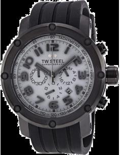 Chic Time | Montre Homme TW Steel Grandeur Tech TW129 Noir  | Prix : 849,00€