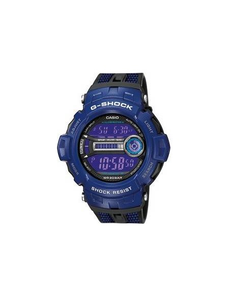 Chic Time | Montre Homme Casio G-Shock GD-200-2ER Bleu  | Prix : 96,85€
