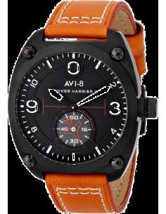 Chic Time | AVI-8  - Montre Homme AVI-8 Hawker Harrier II AV-4026-05 Orange  - Prix : 239,00 €