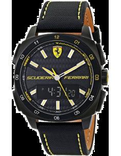 Chic Time | Montre Homme Ferrari Aero Evo 0830170 Noir  | Prix : 239,00€